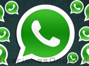 Imagen de ícono grande y pequeños de WhatsApp
