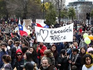 marcha estudiantes chile