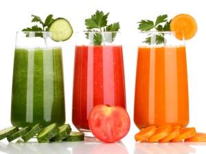 Beneficios de tomar jugos