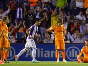 Real Madrid empata ante el Valladolid