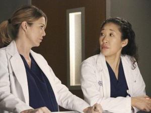 despedida Cristina, Greys anatomy