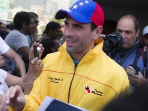 Henrique Capriles en campaña