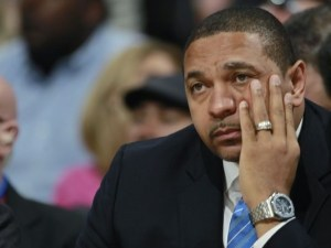 Mark Jackson entrenador de los Golden State Warriors