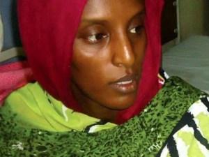 Sudanesa condenada a muerte