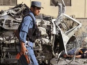 Policia lugar atentado Pakistán