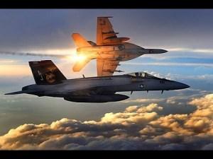 Cazas bombarderos estadounidenses
