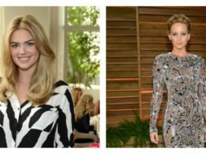 Jennifer Lawrence y Kate Upon actrices hackeadas