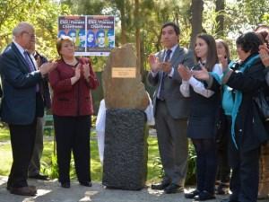 Presidenta Bachelet homenje victimas del Golpe Militar