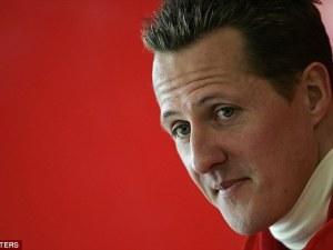 Michael Schumacher close up