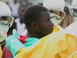 Paciente con ébola de Liberia