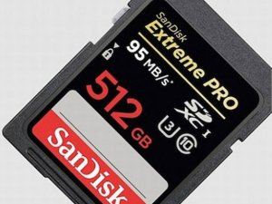 Tarjeta SD 512 gigabytes