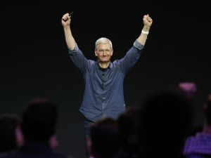 Tim Cook el CEO de Apple