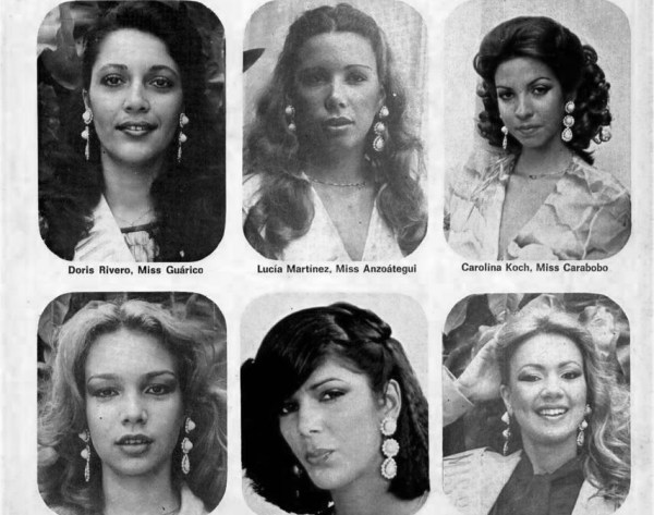 Candidatas miss venezuela 1979