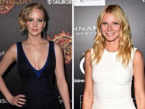 Jennifer Lawrence y Gwyneth Paltrow