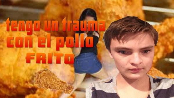 pollo frito meme
