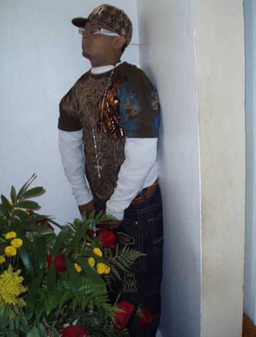 """El funeral conocido como """"Muerto Parao"""""""