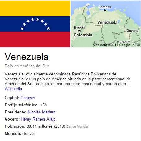 google venezuela ramos allup maduro