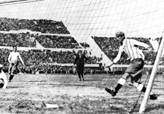Argentina y Uruguay disputaron la final en 1930