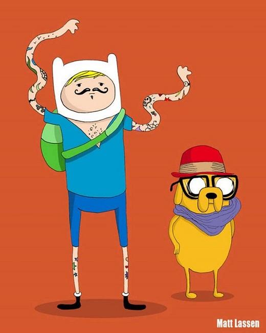 Finn-Jake- Hipster