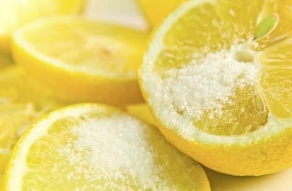 elimina el vello facial-limón azúcar