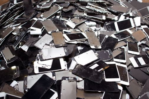 Smartphone-reciclaje