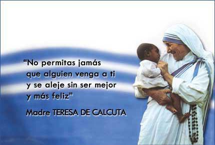 10 Frases Célebres De La Madre Teresa De Calcuta