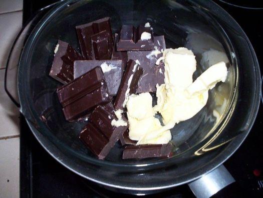 derretir-chocolate-con-mantequilla