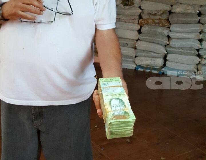 los-billetes-decomisados en paraguay