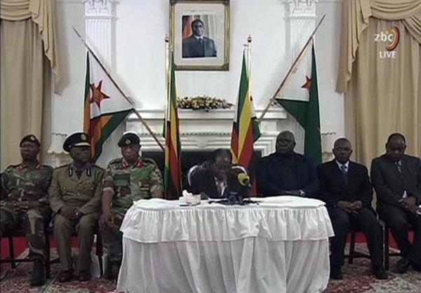 Mugabe envia un mensaje al pueblo