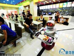 robots para atender los restaurantes