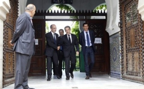 Sarkozy mosquée de paris