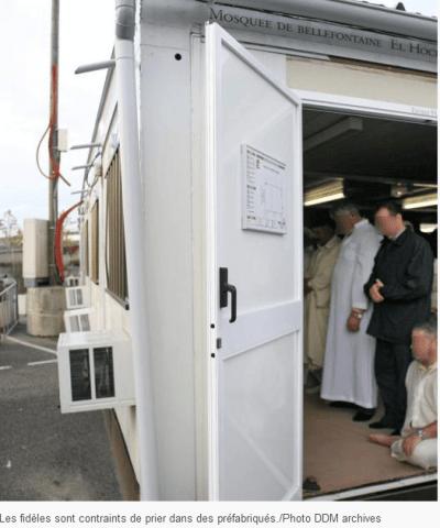 Préfabriqué mosquée de Bellefontaine
