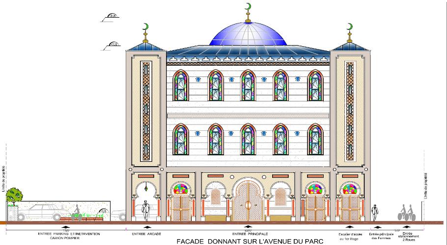 La mosquée Assalam d'Argenteuil