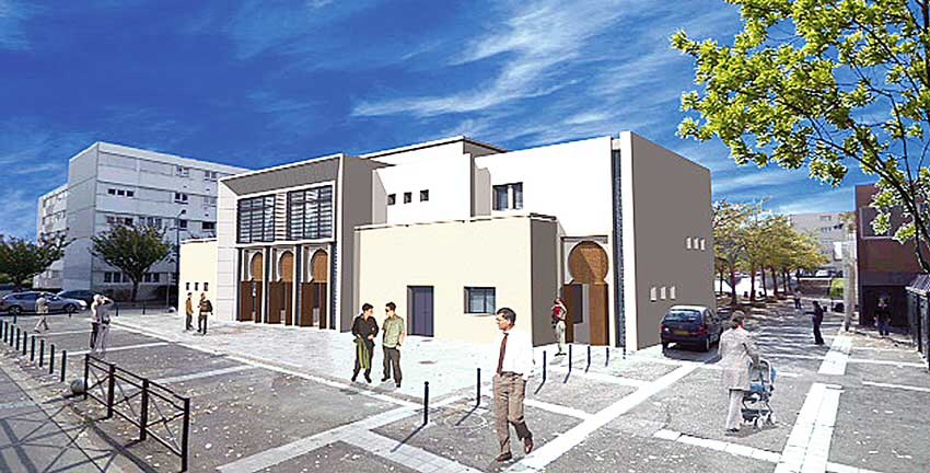 La mosquée d'Epinay-sous-Sénart
