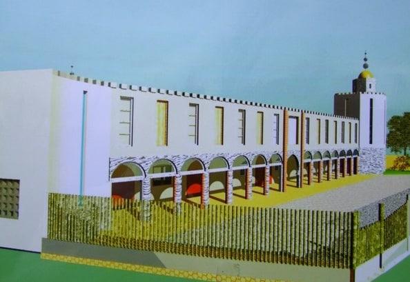 La mosquée de Blois