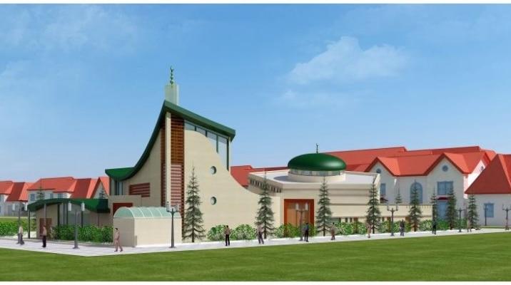 La mosquée de Bussy-Saint-Georges