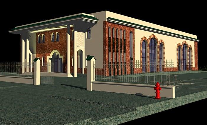 La mosquée de Franconville