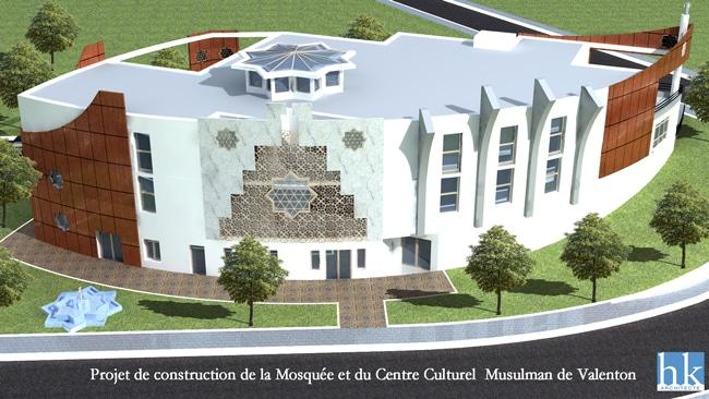 La mosquée de Valenton