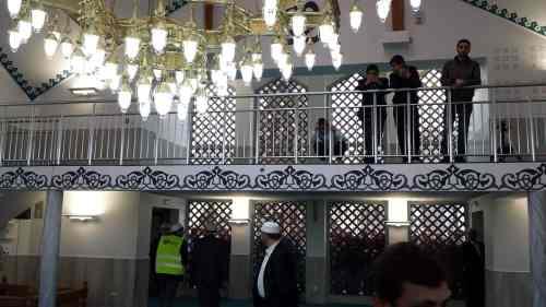 La mosquée d'Annonay salle de prière