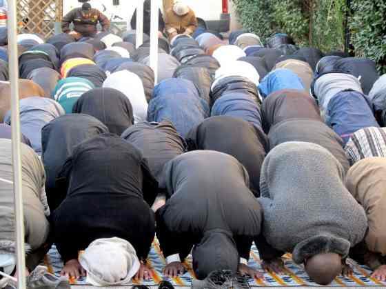 Prières de rue à la Busserine