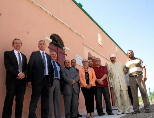Inauguration de la mosquée de Decazeville