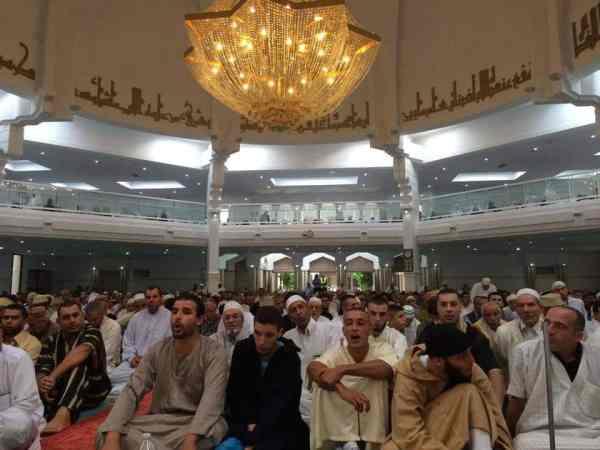Aïd El Fitre à la Grande Mosquée de Lyon