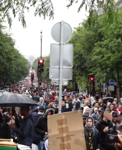 Manif géante pour Gaza à Paris 2