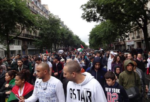 Manifestation Gaza Paris