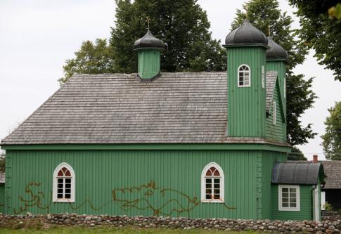 Profanation d'une mosquée dans un village tatar