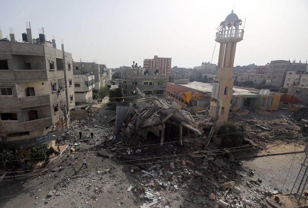 Mosquée Al Tawfeeq nuseyrat Gaza