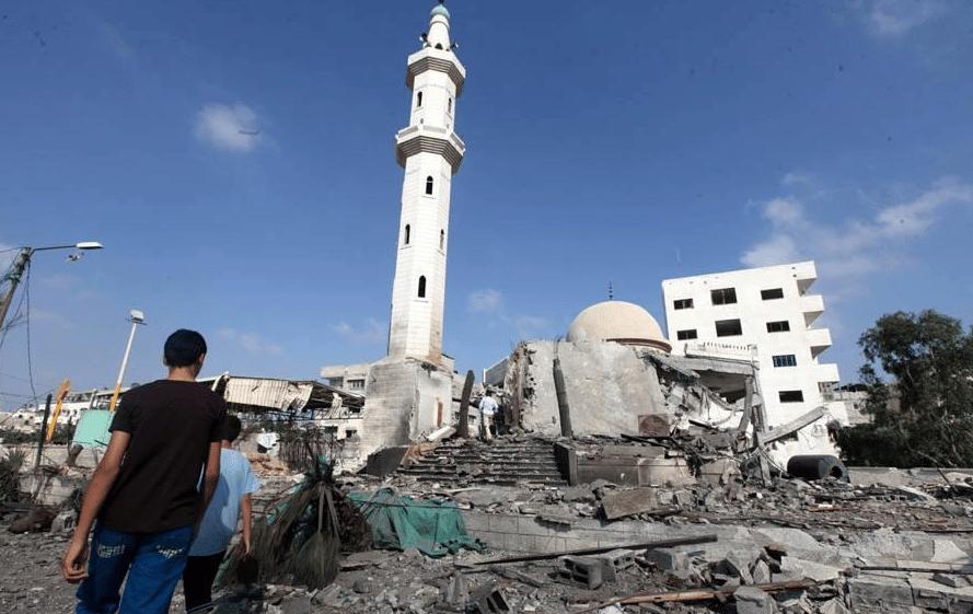 Mosquée Shuhadae Al Aqsa Gaza