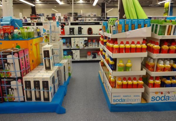 Sodastream Carrefour Evry