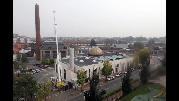 Minaret de la mosquée Bilal de Roubaix
