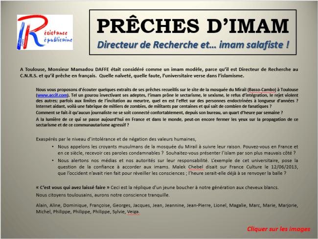 Compilation des prêches de Mamadou Daffé, attaqué par Réssitance Républicaine